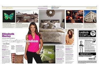 My Design London: Eliizabeth Hurley
