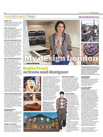 My Design London: Sadie Frost